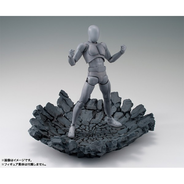 tamashii-effect-impact-gray-action-figure